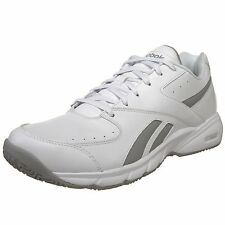 Reebok Time & Half Cushioned White Walking Womens Trainers Shoes Size 3-8 UK