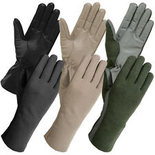 Insulated Airforce Military Tactical Fire Resistant Nomex Pilot Gloves