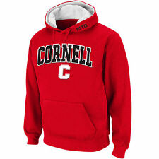 Cornell Big Red Stadium Athletic Arch & Logo Pullover Hoodie - Red - College