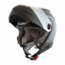 Modular Motorcycle helmet by Reevu fsx1 helmet  matte black all sizes dot Ece