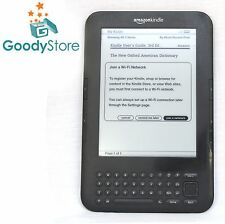 Amazon Kindle Keyboard (3rd Generation) 4GB, Wi-Fi + 3G, 6in - Graphite