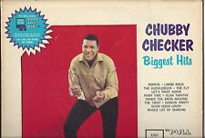 CHUBBY CHECKER BIGGEST HITS - '62 PARKWAY MONO LP W/PICS AND INSERT