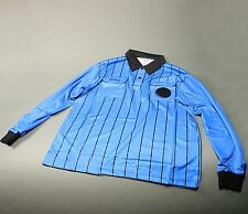 Olympus Soccer Referee Long Sleeve Shirt Royal/Black (NEW) Retails: $39.99