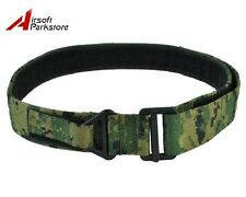 Tactical Military 1000D CQB Rigger Rescue Emergency Nylon Duty Belt DigiWoodland