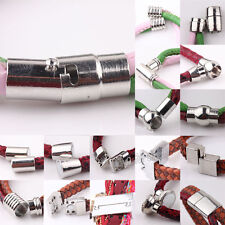 Wholesale 5Sets Silver Plated Tone Strong Magnetic Clasps Hooks Jewelry Findings