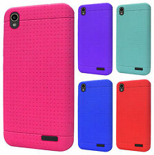ZTE WARP ELITE N9518 Rubber SILICONE Soft Gel Skin Case Phone Cover Accessory
