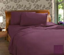 KINGDOM COLLECTION PERCALE SHEET SET 225 THREAD COUNT (PS10) BEDDING BED SLEEP