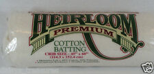 Cotton quilt wadding HOBBS Heirloom batting CRIB FULL QUEEN KING SIZE quilting