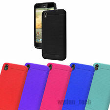 For ZTE Warp Elite N9518 Silicone Gel Skin Flexible Case Soft Rugged Cover