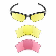 Revant Replacement Lenses for Oakley Flak Jacket XLJ Vented — Multiple Options