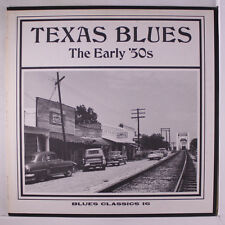 VARIOUS: Texas Blues - The Early '50's LP rare Blues & R&B