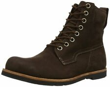 """MENS TIMBERLAND EK RUGGED 6"""" BOOT BROWN NUBUCK LEATHER SIZES 7 TO  8.5 UK WIDE"""