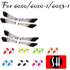 SH X-Power 6020 & 6020-1 RC Helicopter Geniune Spare Parts Main Blade Set