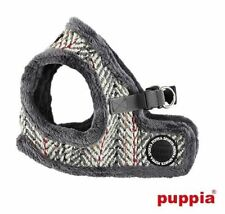 Choose Size - PUPPIA - OZ - Soft Dog Puppy Step In Harness Vest - Grey