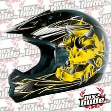 THH Motocross Kids Helmet 2014 TX-10 ARROW black yellow Motocross Enduro Cross
