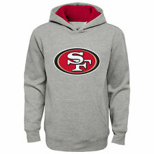 San Francisco 49ers Youth Fan Gear Prime Pullover Hoodie - Gray - NFL