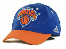 """New York Knicks NBA Adidas """"Courtside 2 Tone"""" Stretch Fitted Hat New"""