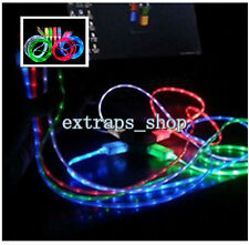 3.3FT 1*LED Light USB Data Sync Charger Charging Cable Line Cord for iPhone 5 5S