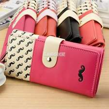 Fashion lady long purse clutch wallet high quality women zip bag card holder EA