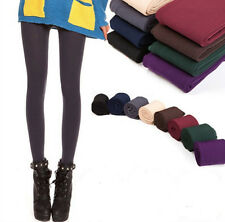 Women Lady Warm Winter Thick Skinny Slim Footless Leggings Stretch Pants New V