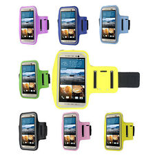 Stylish Sports Gym Running Armband Pouch Arm Band Case Cover For HTC One M9 New