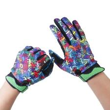Cycling Bike Bicycle Motor Gel Silicone Full Finger Winter Warm Gloves M -XL