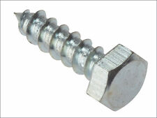 Coach Screw DIN571 Zinc Plated Blister Pack Forgefix