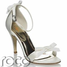 Ladies Ivory Wedding Shoes, Girls Prom Shoes, High Heel Shoes, Bridesmaid Shoes