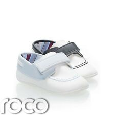 Baby Boys Shoes, Couche Tot Shoes, Navy & White, Baby Blue & White
