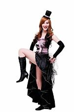 Women's Costume burlesque Can-Can Girl Saloon Dancer burlesque L056
