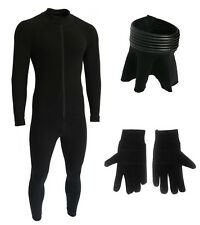BUNDLE - Bodysuit, Neck Seal and Gloves compatible with a Stormtrooper Costume