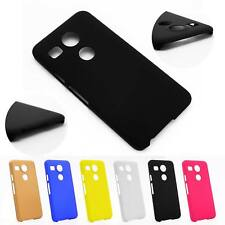 Soft Matte TPU Silicone Back Case Cover For LG Google Nexus 5X +Free Screen Film