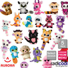 Aurora YOOHOO AND FRIENDS 5 INCH PLUSH Cuddly Soft Toys Childrens Teddy Gifts