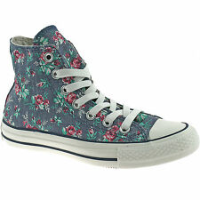 LADIES CONVERSE ALL STAR CANVAS BOOTS SIZE UK 3 - 7 HI DARK DENIM 537112C