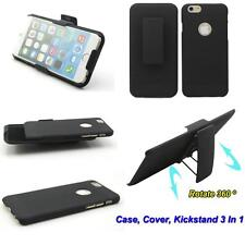 Combo Armor Rotate Hard Case Holster Belt Clip Cover Kickstand Stand For Phone