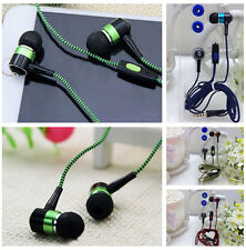 3.5mm In-Ear Earbuds Mic Stereo Earphone Headset Headphone For iPhone iPod MP3 E