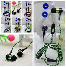 Super Bass Stereo Braided Headphone Earphone In-ear Headset Earbud for Cellphone