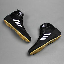 adidas HVC K Wrestling Shoes Youth & Junior Black/White (NEW) Lists For: $55.99