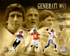 Football Archie, Peyton and Eli Mannings Generations Photo Picture Print #1129