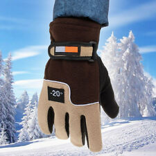 Mens Winter Warm Gloves Ski Snowboard Bike Motorcycle BMT Riding Driving Outdoor