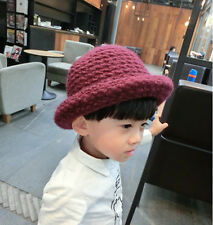 Childs Kids Winter Wame Bush Bucket Hat Boys Girls Baby Toddler COLOURS Cap