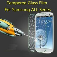 New Premium Tempered Glass Screen Protector Film Guard For Samsung Galaxy Phones
