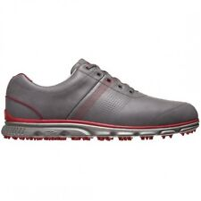 Footjoy DryJoys Casual Golf Shoes Grey/Red 53663 New Closeout Mens Shoe