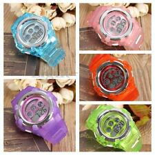OHSEN Lovely Colourful Digital Sport Wrist Watch for Girls Kids Alarm HK BO