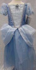 Disney Store Princess Cinderella 2014 Child Girl's Costume Gown 4 7/8 9/10