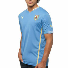 Puma Uruguay 2014 World Soccer Replica Home Jersey - Light Blue