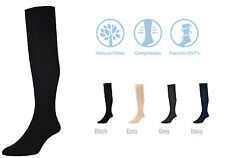 New Mens Ladies Unisex HJ Hall 747 FLYSAFE Travel Flight Compression Socks