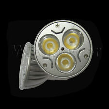 10 pcs Lot 3W 4W 5W GU10 E27 MR16 LED WARM White High Power Light Bulb Spotlight