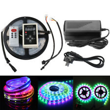 5M Magic Dream Color 5050 RGB 6803 IC IP67 Waterproof LED Strip Light & 133 IR