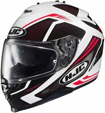 HJC IS-17 Spark MC-1 Red Full Face Motorcycle Helmet